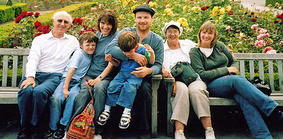Chris, Mary and family